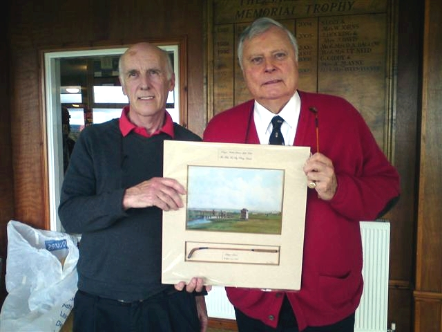 Peter Alliss with Nick Pearce