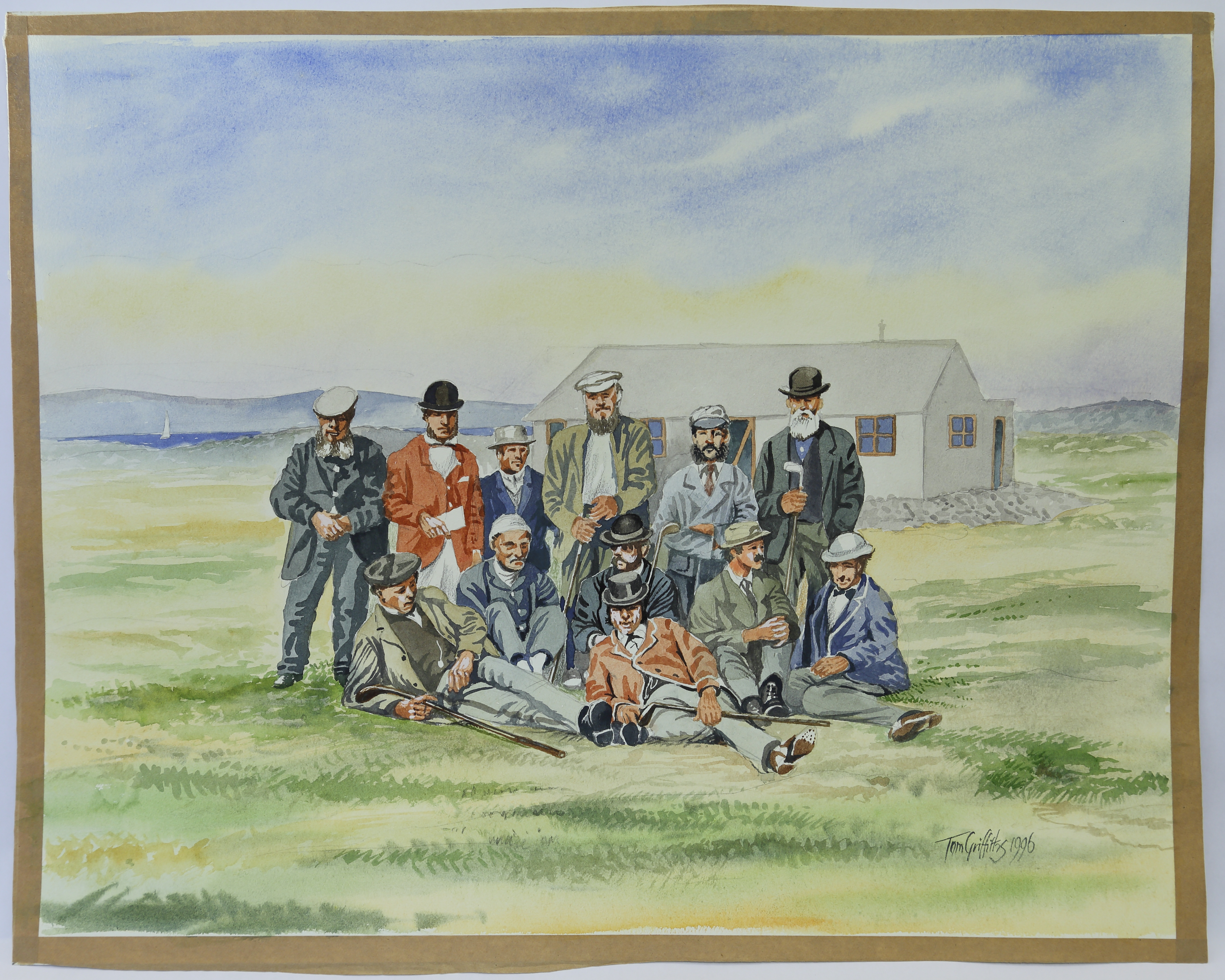 Triangular Tournament at Westward Ho! by T. Griffiths