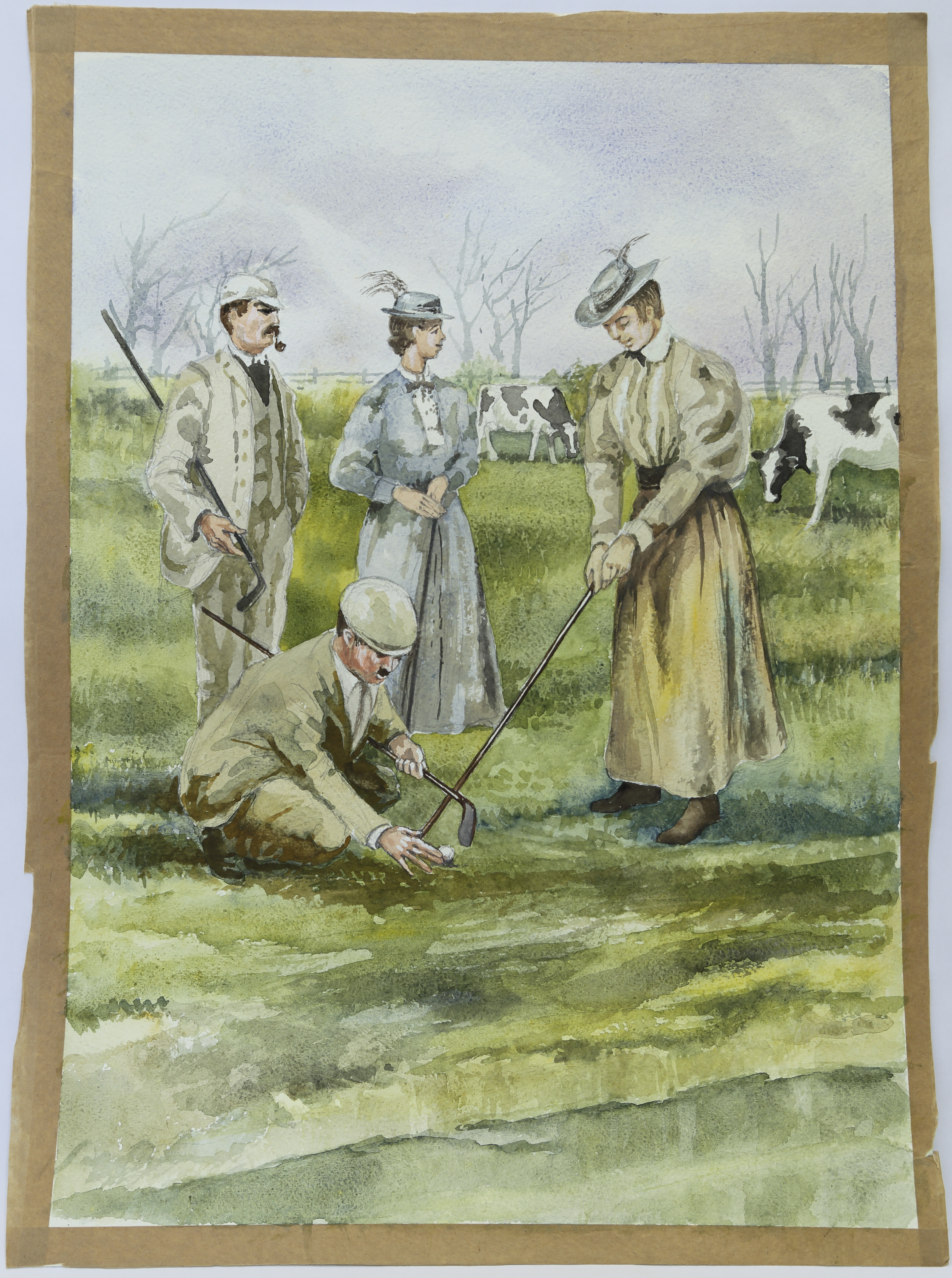 Early golf at Yonkers by T. Griffiths