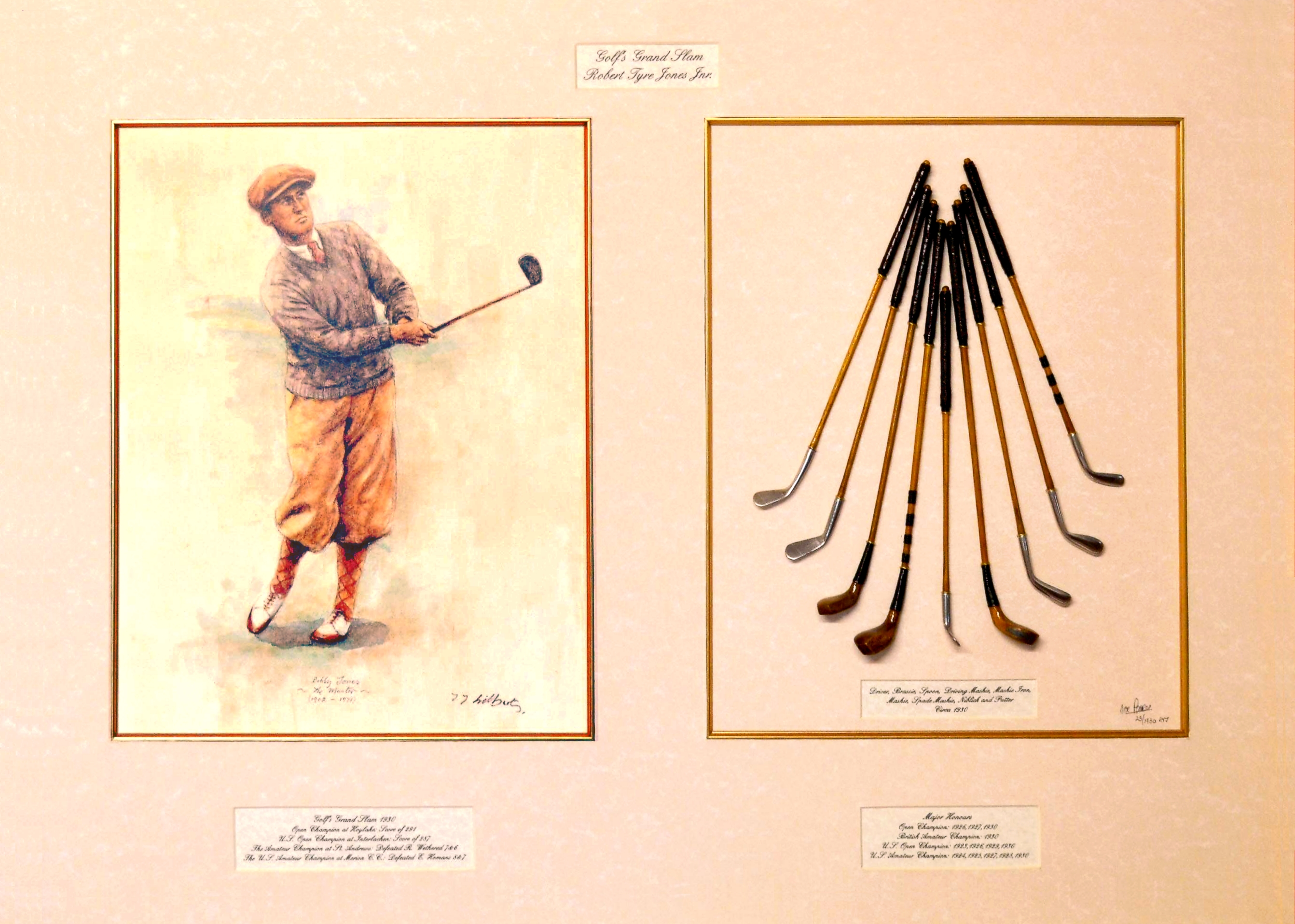 Golf's Grand Slam 1930, Robert Tyre Jones Jr.