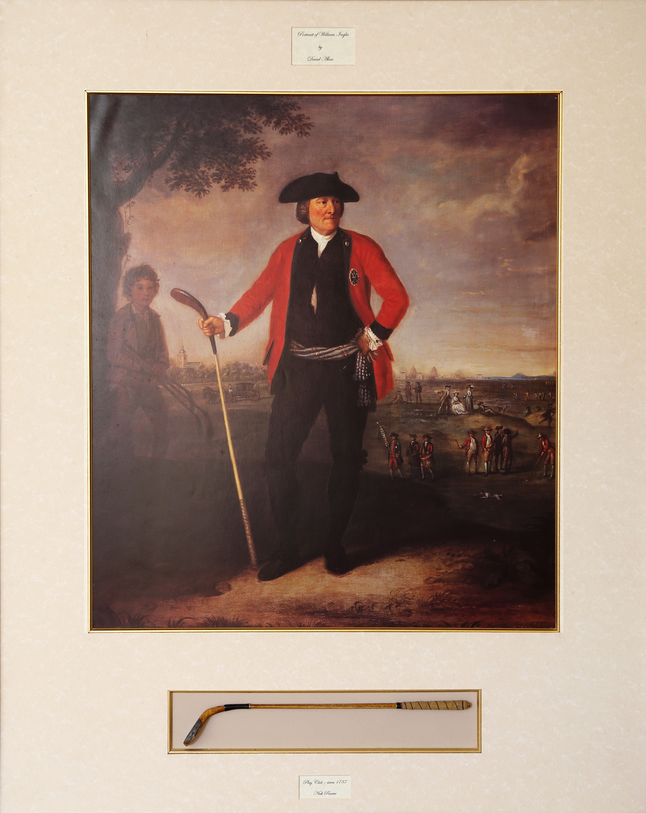 After David Allan - W. Inglis - Captain of Honourable Company, 1787